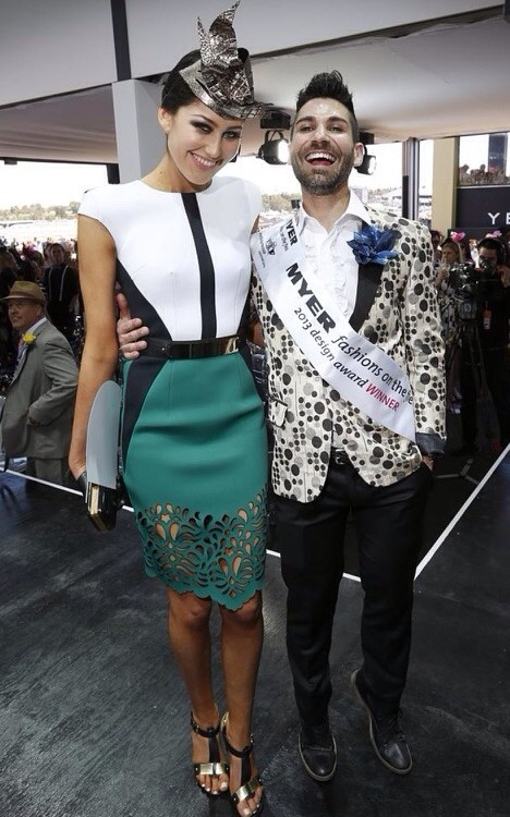 Oscar Calvo Winner of Designer Fashions on the Field 2013
